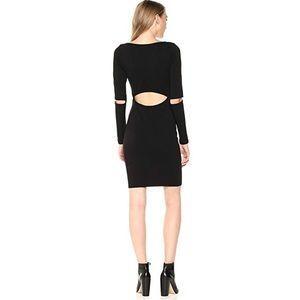 LAMade Black Long Sleeve cut out Bobbie Dress S